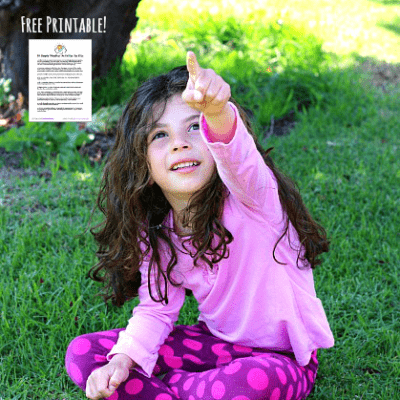 10 Simple Weather Activities for Kids that Require Little or No Prep (Free Printable)