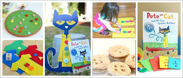 Learning Activities for Pete the Cat and His Four Groovy Buttons