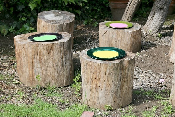Spring Themed Sensory Play Sand Trays