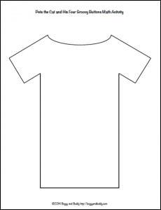 free shirt template