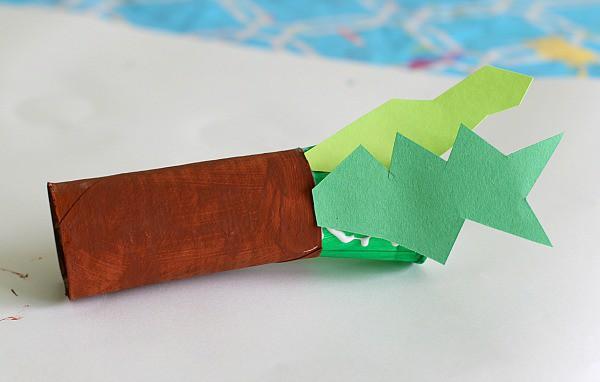 glue on leaves