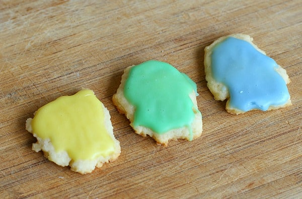 Little Blue and Little Yellow Cookies