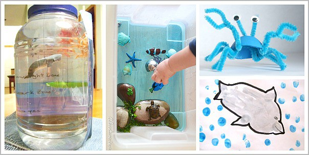 Over 20 Sea Animal Crafts And Activities For Kids Buggy Buddy