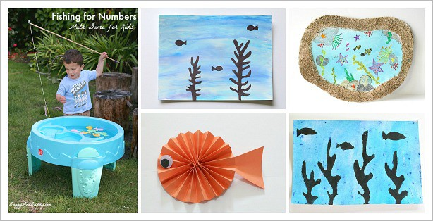Ocean Themed Activities from Buggy and Buddy