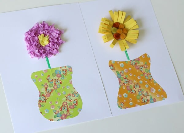 craft ideas for making flowers unique paper vase and flower craft for buggy and buddy 6204
