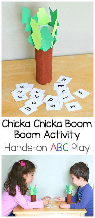 Mini Chicka Chicka Boom Boom Play Set for Kids