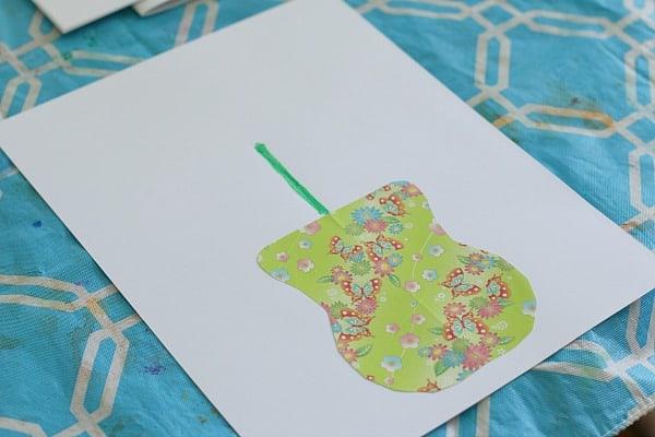 paper vase craft