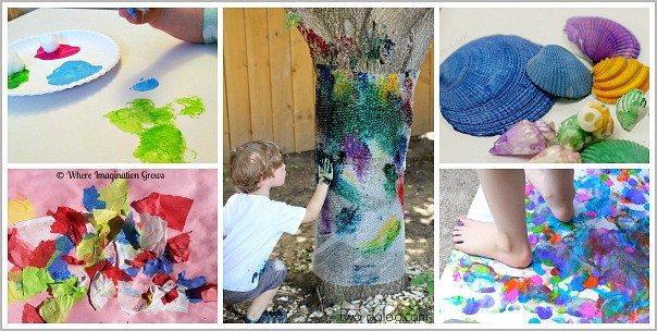 Simple Toddler Art Projects