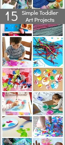 15 Simple Toddler Art Projects Buggy And Buddy