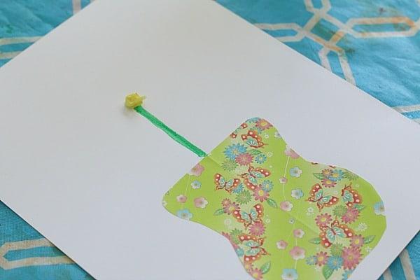 crumple tissue paper