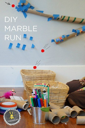 DIY Marble Run- Tinkerlab