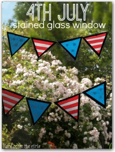 Window Art for 4th of July