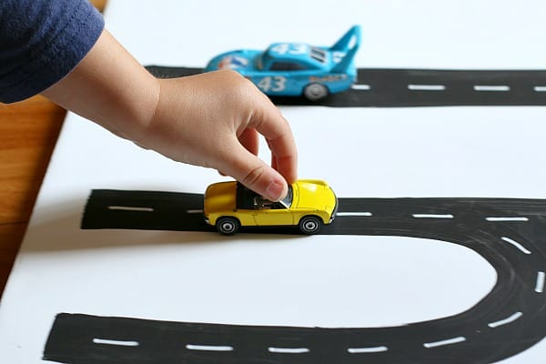 Toy Car Name Activity for Kids~ Buggy and Buddy