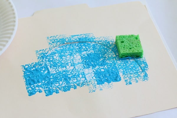 Paper Car Craft for Kids Using Sponge Painting - Buggy and ...