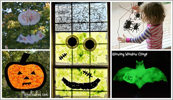Halloween Window Art for Kids