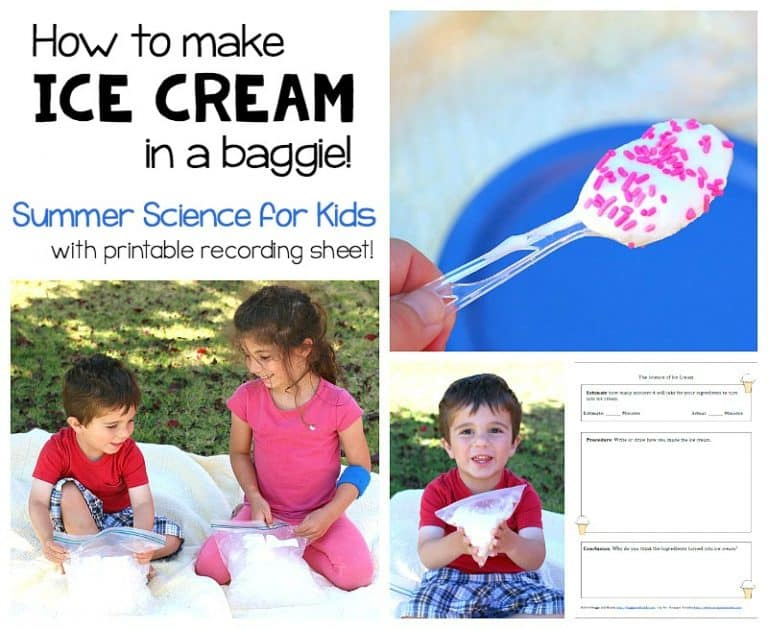 how to make ice cream in