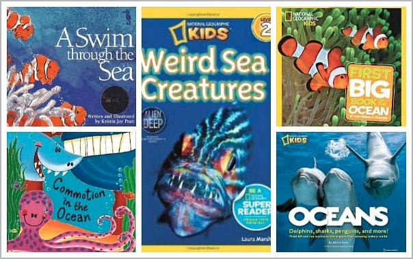 Children's Books about Ocean Animals