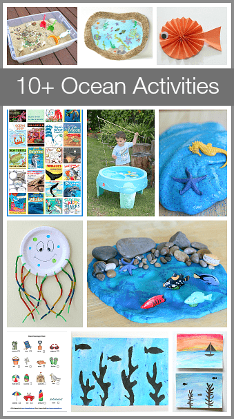 10 Unique Ocean Activities And Crafts For Kids Buggy And