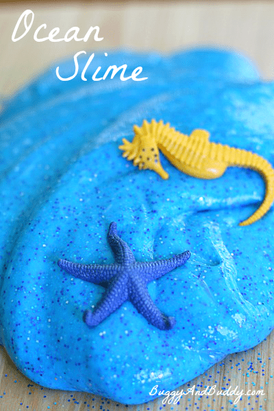 How to Make Ocean Slime~ Buggy and Buddy