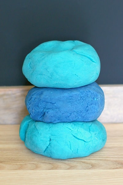 ocean playdough recipe