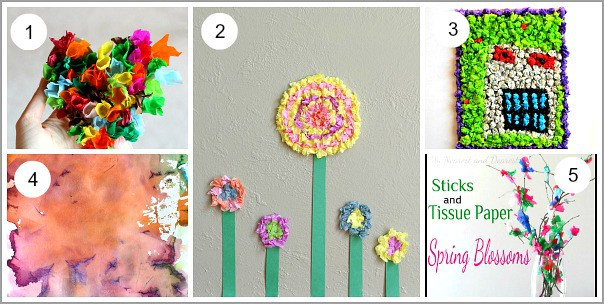 Art And Craft Ideas With Tissue Paper 20 Tissue Paper Art Projects