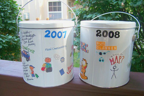 Travel Buckets for Kids