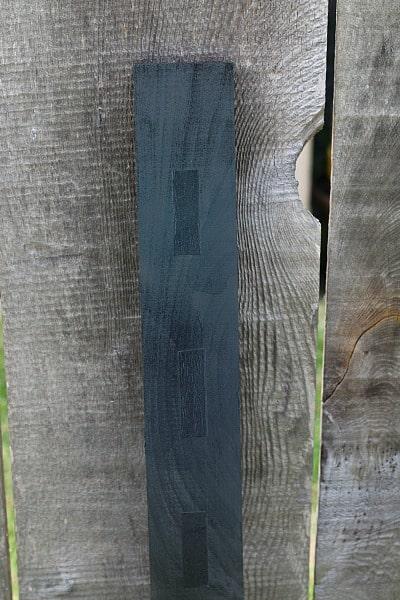 spray boards black