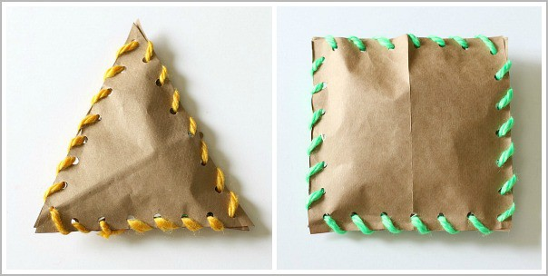 Stuffed Shapes Craft for Kids