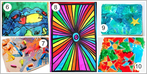 30 Super Cool Art Techniques for Kids - Buggy and Buddy