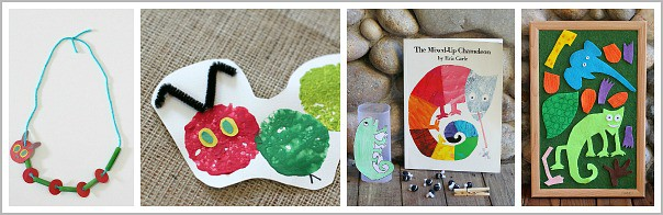 Activities and Crafts Inspired by Eric Carle