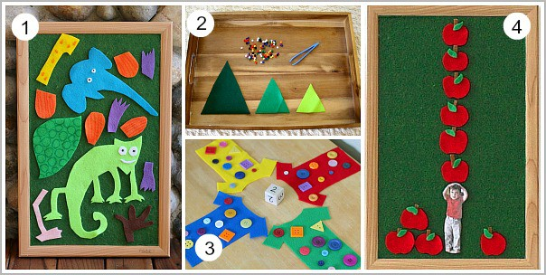 Learning Activities Using Felt~ Buggy and Buddy