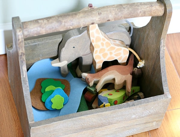 How to Store Items for Small World Play