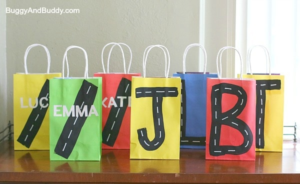 Car Themed Treat Bags~ Buggy and Buddy