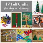 17 DIY Felt Crafts for Play and Learning