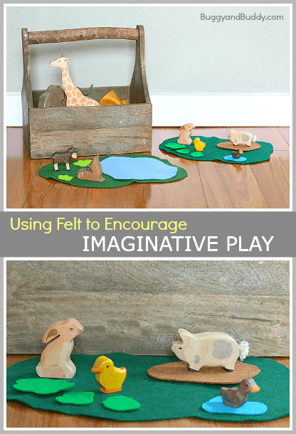 How to Encourage Imaginative Play Using Felt~ Buggy and Buddy