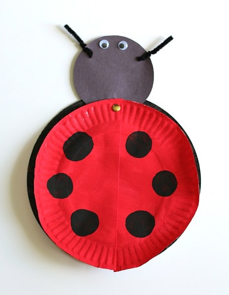 The Grouchy Ladybug Craft For Kids With Free Printable