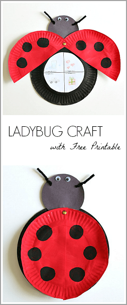 photograph relating to Printable Ladybug referred to as The Grouchy Ladybug Craft for Youngsters (with No cost Printable