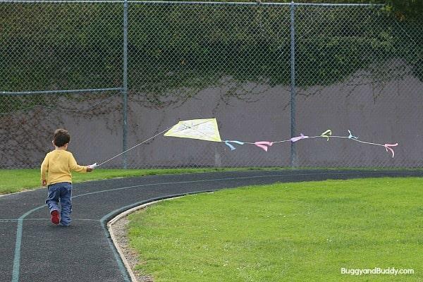 DIY Kite Craft for Kids