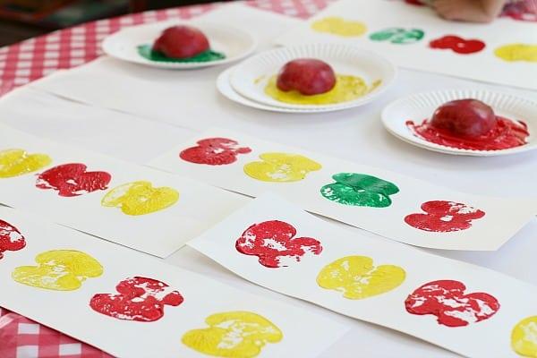 apple print patterns