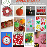 Over 30 APPLE Crafts, Play Recipes, and Activities for Kids