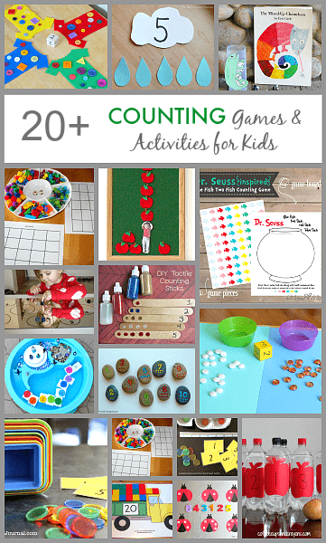 20 Counting Games And Activities For Kids