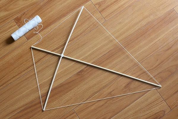 make kite frame
