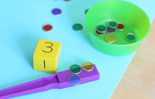 Math Counting Game for Kids: Roll and Count~ buggyandbuddy.com