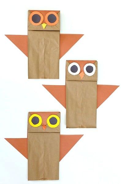 Who's Who? Paper Bag Owl Craft~ BuggyandBuddy.com
