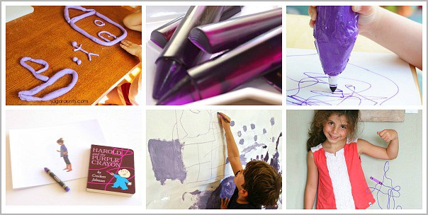 Activities for Kids Inspired by Harold and the Purple Crayon