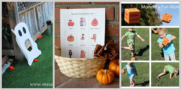 Halloween Group Games for Kids