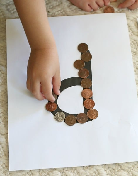 a fun way for kids to sort coins