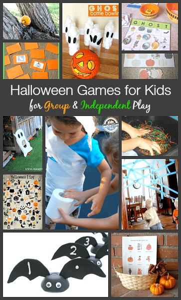 Image gallery kindergarten halloween games for Halloween party games for preschoolers