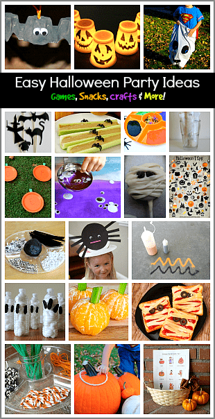 over 20 easy halloween party ideas for kids