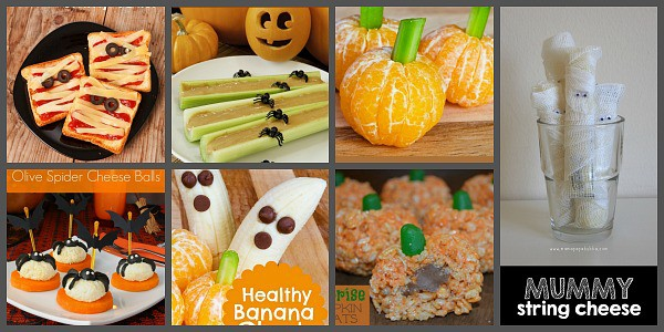 Easy Halloween Treats for a Kids' Halloween Party